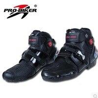 Top leather racing motocross boots botas motorcycles moto shoes racing pro biker motorcycle boots 40/41/42/43/44/45