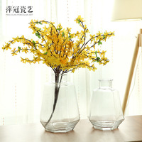 O.RoseLif Brand New Color Europe Style Glass Terrarium Vases Home decoration for wedding decoration