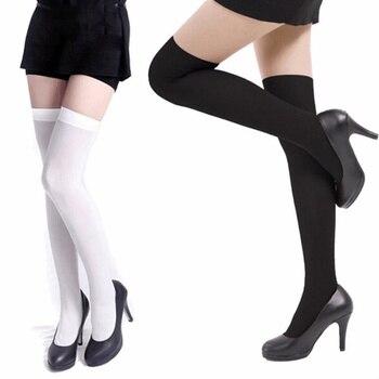 2019 Fashion women Stockings Girl Velvet High stocking Over Knee Stretch Nylon girl long sexy elasticity Hosiery Tights 42cm headset icon white png