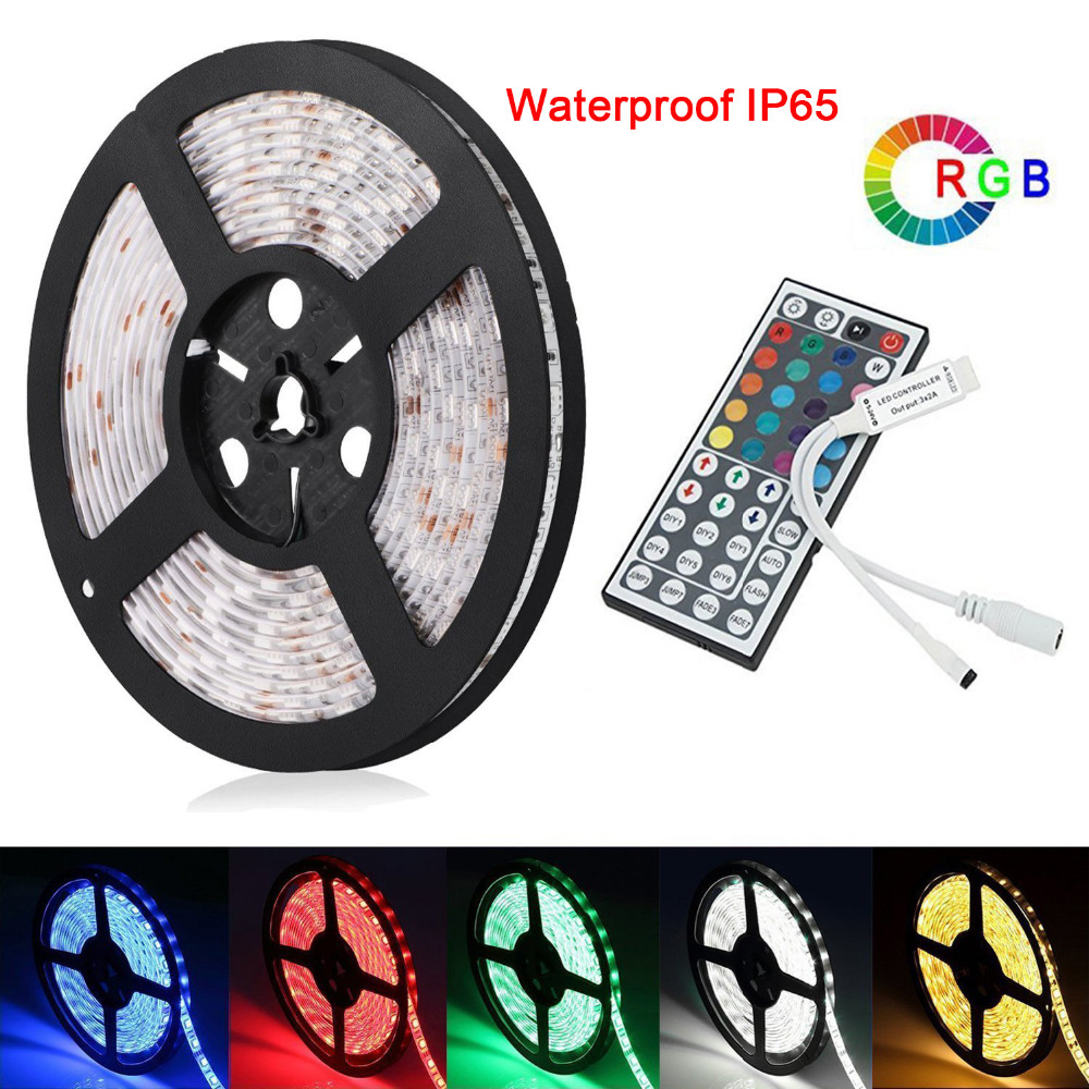 MARSWALLED SMD5050 RGB LED Light Waterproof Or