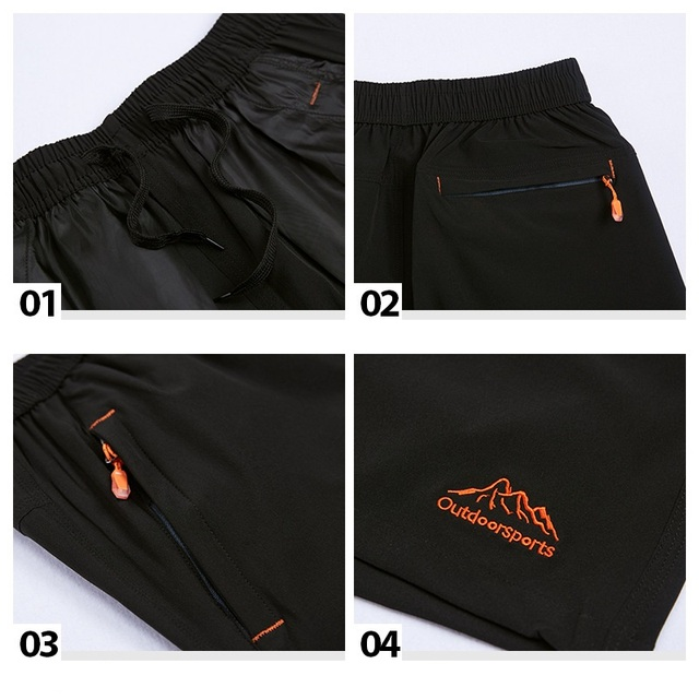 Grandwish Plus Size Shorts Men 9XL with Zipper Pocket Shorts Men Big Size Elastic Waist 7XL 8XL 9XL Plus Size Shorts Mens,DA016