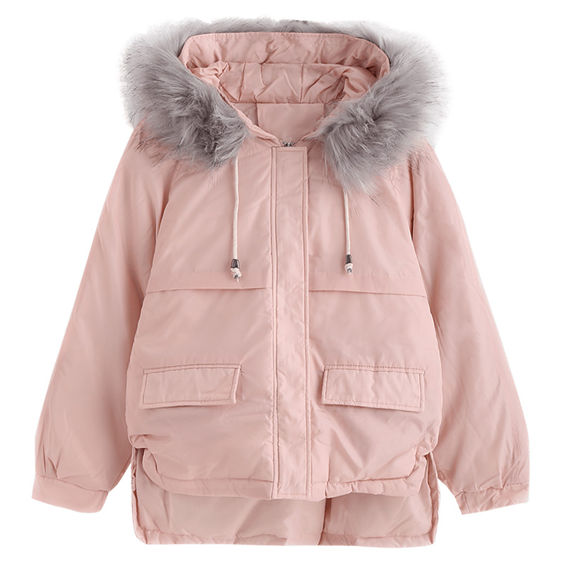 Hooded Casual Down Loose 8