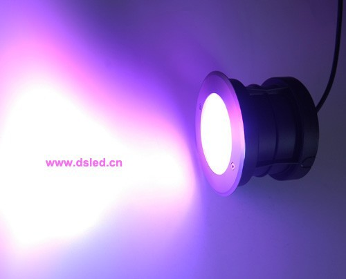 Free shipping by DHL !! high power IP68 18W RGB recessed underwater LED light, RGB LED pool light,DS-11S-17-18W-RGB,24V DC