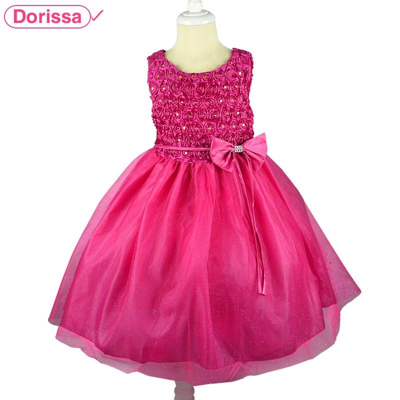2016 Summer Princess Infant Little Girl Party Dresses