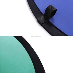 Image 5 - 新 100*150 センチメートルオーバル折りたたみポータブル反射青とグリーンスクリーンクロマキーフォトスタジオライトリフレクター写真