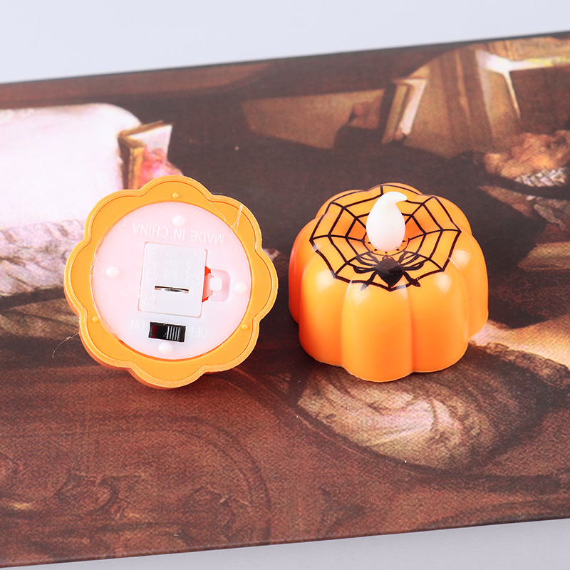 HTB1p8mEXcvrK1Rjy0Feq6ATmVXac - New Pumpkin Candle Lights Halloween Decoration Lights Warm White Halloween Home Decoration Accessories