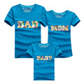 2017 family look dad mom baby t-shirts family look mother father baby son clothes outfits matching mother daughter clothes
