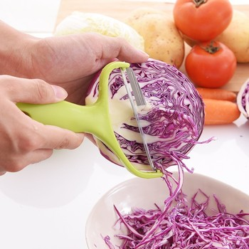 Wide Multifunctional Cabbage Grater Potato Peeler Kitchen Gadgets Accessories Tools Vegetable Slicer Salad Cutter Onion Chopper