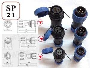 SP2110/P3 wodoodporne złącze 2pin 3pin 4pin 5pin 6pin 7pin gniazdo wtykowe, złącze zasilania, złącze kabla