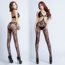 Sexy Lingerie Hot Bodysuit Sexy Costumes Intimates Women Bodystocking Open Crotch Sex Products Erotic Lingerie Chemises 6015