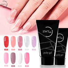 ZWTale Soak off Poly Gel UV Acryl Quick Building 30ml Finger Extension Nail Camouflage LED Hard Builder