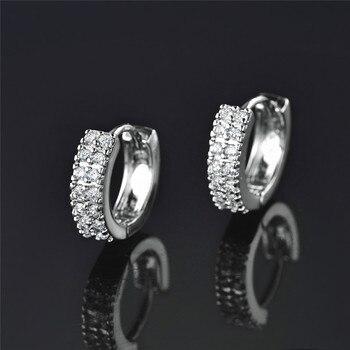 Women's Vintage Crystal Hoop Earrings Earrings Jewelry Women Jewelry