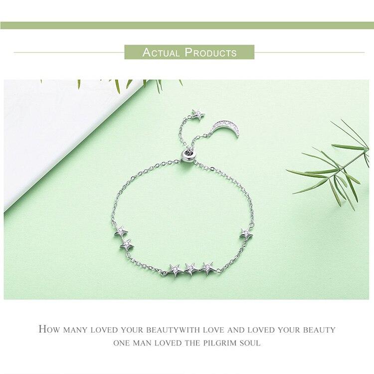 HTB1p8mmiLJNTKJjSspoq6A6mpXaH 925 Sterling Silver Sparkling Tennis Bracelet Chain Strand Bracelets for Women Luxury Original Sterling Silver Jewelry GXB029