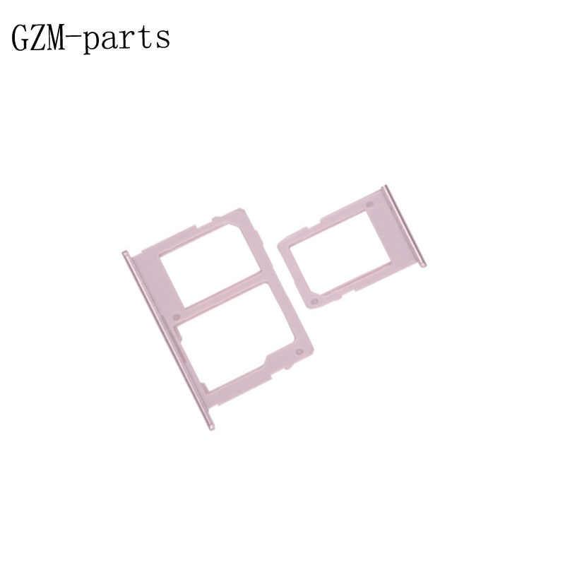 GZM-أجزاء 1 قطعة واحدة/المزدوج سيم صينية لسامسونج غالاكسي J3 J5 J7 2017 J330 J530 J730 SIM بطاقة صينية فتحة حامل محول