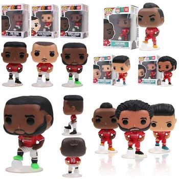 Funko POP Manchester United & Liverpool Firmino Sadio Manet Mohamed Salah Zlatan Ibrahimovic Pogba action figure toys for kids