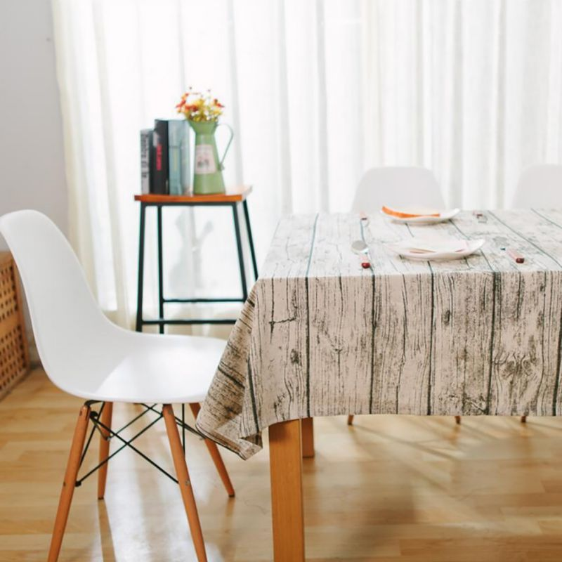 New Useful Classic Europe Style Table Bar Restaurant Living Room Clothes Cover Wood Dust Linen Tablecloth Cloth