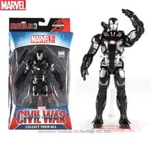 Hasbro Marvel Toys The Avenger Endgame 17CM Super Hero War Machine Thanos Wolverine Spider Man Iron Action Figure Toy Dolls
