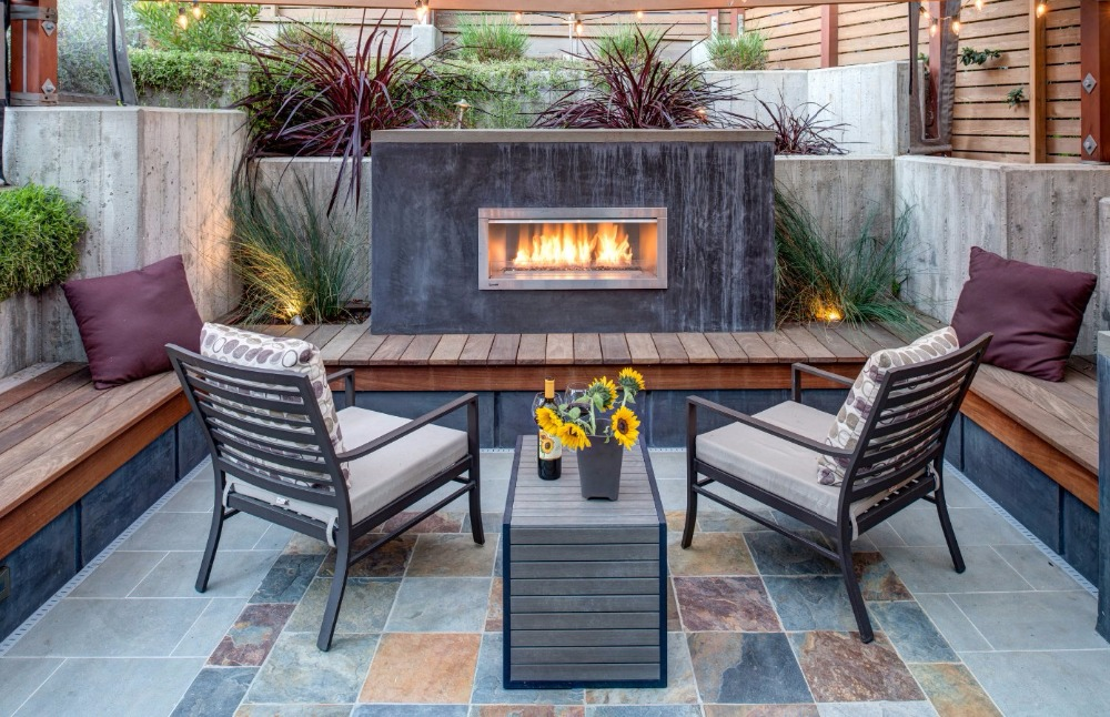 on sale 24 inch indoor/ outdoor used stainless steel bio ethanol fireplace insert цены онлайн