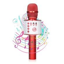 Bluetooth Karaoke Microphone Wireless microphone Portable speaker connection equipment TF card alone