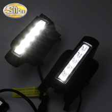 купить For Toyota Prado 120 FJ120 LC120 2003 2004 2005 2006 2007 2008 2009 DRL fog lamp E4-Marked with Dimming/Light off Function дешево