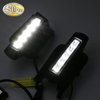 Para Toyota Prado 120 FJ120 LC120 2003, 2004, 2005, 2006, 2007, 2008, 2009 DRL niebla lámpara E4-Marked con atenuación/ luz de la función