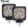 TC-X Auto LED 2 UNIDS Al Por Mayor 27 W Luz de Trabajo SUV Haz Combo inundación Camión Remolque LLEVÓ LA Lámpara de Luces de Trabajo A Prueba de agua de Vivienda Worklamp