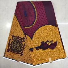 Latest java wax print fabric,satin ankara fabric african Dutch Wax Block Print fabrics for wedding evening dress KWSH-95