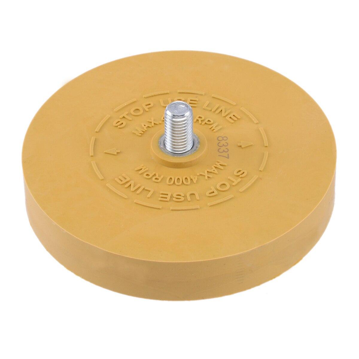 Mayitr Rubber Eraser Wheel Arbor Pinstripe Sticker Decal Tape Glue Adhesive Remover 3.5 inch/88mm