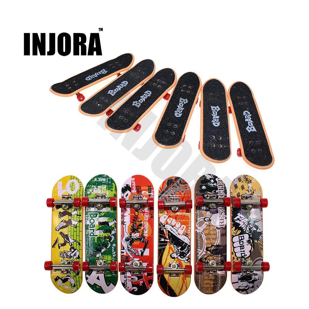 1PCS Mini Graffiti Skateboard for 1:10 RC Rock Crawler Axial SCX10 II 90046 RC4WD D90 D110 TF2 Tamiya CC01 Traxxas TRX-4 Truck
