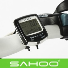Cool Waterproof LCD Cycling Bicycle Bike Accessories Computer Odometer Speedometer Black Blue Yellow, Free Shipping