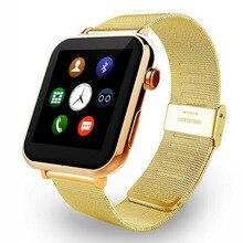 มาใหม่หรูหราบลูทูธsmart watch a9อัตราการเต้นหัวใจmonitor s mart w atchนาฬิกาข้อมือสำหรับiphone samsung htc relógio inteligente