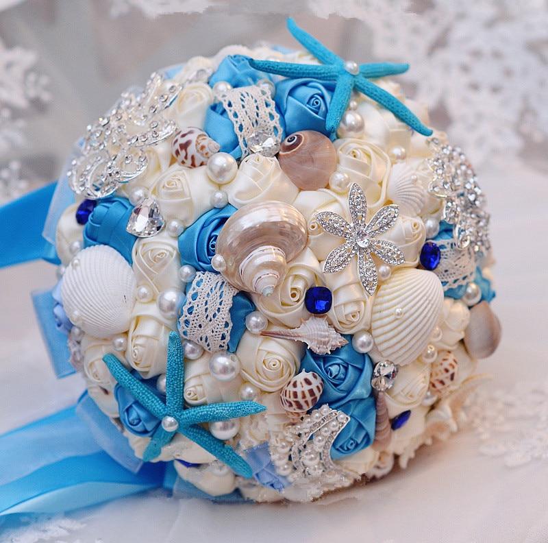 Морские букеты для невесты фото 2015, оптовые названия цены