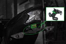 цена на Tail Tidy Fender Eliminator Registration Number License Plate Mount Holder LED Light for 2017 2018 2019 Kawasaki Z900 Z 900 ABS