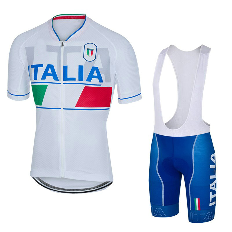 2018 Pro Team Italia maillot bike jerseys sets Ropa culotte ciclismo Sports bib  Jersey men Cycling Clothing bicycle equipacio 43fb4ee60