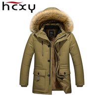 Winter Jacket Men Thicken Weight 1 3kg Fashion Mens Down Jackets Warm Hooded Jackets And Trench