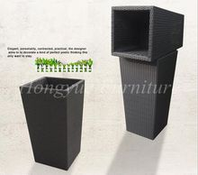 Latest designs rattan material outdoor planter furniture