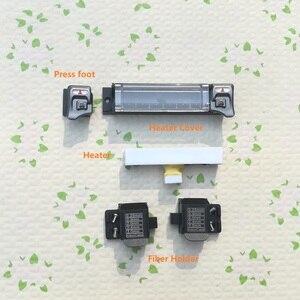Image 1 - משלוח חינם Ruiyan RY F600 F600P Fusion כבלר דוד חום תנור כיסוי עיתונות רגל חלקי חילוף