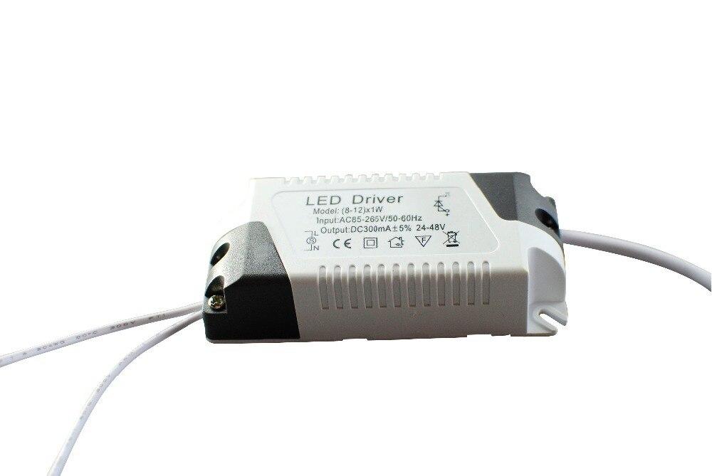 LED-driver til LED-strimmel Lys lampe Strømforsyning AC85-265V DC24-48V 8-12W 300mA