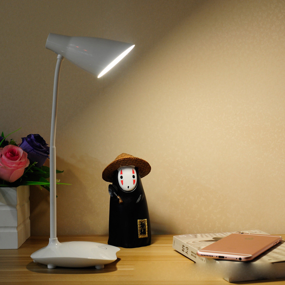 Jiawen Dimmable LED Desk Lamp USB Charging Book Reading Light Touch Light Home Decoration Lighting