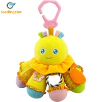 LeadingStar Cotton Octopus Toy Multiple Functions Stimulate Baby S Creativity Infant Bed Or Stroller Bell For