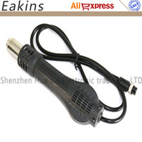 Free Shipping Soldering Rework Station Handle For YOUYUE 858D 8586 Soldering Station 9 Pin Interface