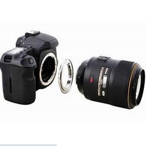 Image 4 - AF Confirm With Chip for Nikon F (Non AI, Ai, AIS) Lens Adapter to FOR Canon EOS AI EOS camera 500d 600d 50d 60d 5d2 550d