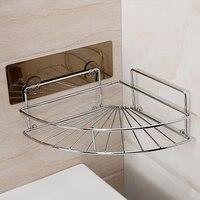 Bathroom suction cup corner shelf kitchen shelf toilet storage rack LO523142