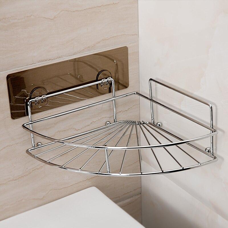Salle de bain ventouse coin étagère cuisine étagère toilette rangement rack LO523142