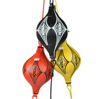 2017 NEW Muay Thai PU Punching Bag Speed Ball Boxing Pear Professional Boxing Equipment BodyBuilding Fitness