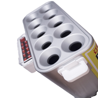 1 pc Gas Commercial Non - stick Coating Coil Egg Rolls Toaster Hot Dog Egg Burger Machine Breakfast