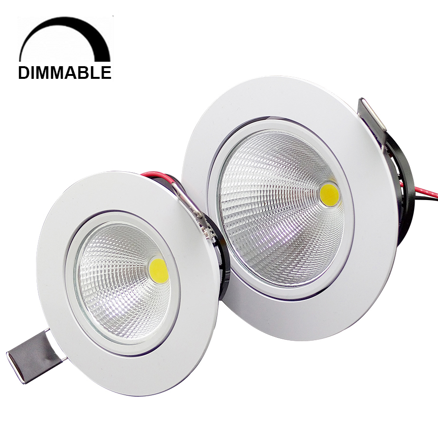 1 Stück Home LED Cob Epistar Einbau Downlight dimmbar 5W / 10W LED - Innenbeleuchtung - Foto 1