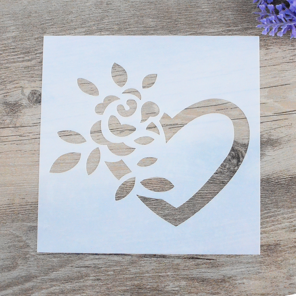 Heart stencil for walls image collections home wall decoration ideas online get cheap heart stencils for walls aliexpress diy craft layering heart stencils for walls painting amipublicfo Choice Image