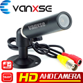 Vanxse CCTV HD 1.3MP 960P AHD 1200TVL  3.6mm HD Mini Bullet Security Camera Surveillance with Bracket FOR AHD DVR