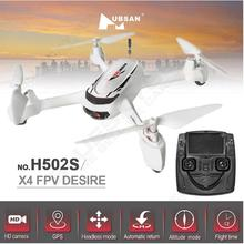 Hubsan X4 H502S 5.8G FPV RTF RC Quadcopter Drone With HD Camera GPS Altitude Mode Headless Mode Follow Me h501s upgrade version
